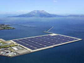 पानी में तैरने वाला विश्व का सबसे बड़ा सोलर प्लांट जापान में