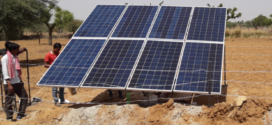 Solar pumps for agriculture